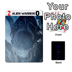 Aliens: This Time It s War Pt3 By Chris Hillery   Playing Cards 54 Designs   Vzf6sxspyfma   Www Artscow Com Front - Spade5