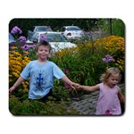 Noah and Izzy Mousepad - Large Mousepad