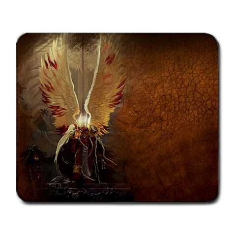 Emperor Of Mankind By Alex   Large Mousepad   945vb1x01zg3   Www Artscow Com Front