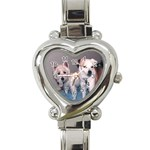 Emmy-n-Mo Watch - Heart Italian Charm Watch