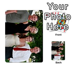 Ashley Dallas Reception Cards Done By Jeannie Deno   Multi Purpose Cards (rectangle)   5jrlubpf7fr3   Www Artscow Com Back 1