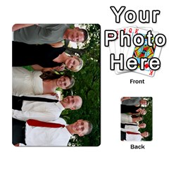 Ashley Dallas Reception Cards Done By Jeannie Deno   Multi Purpose Cards (rectangle)   5jrlubpf7fr3   Www Artscow Com Front 6