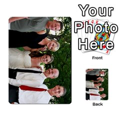 Ashley Dallas Reception Cards Done By Jeannie Deno   Multi Purpose Cards (rectangle)   5jrlubpf7fr3   Www Artscow Com Front 51