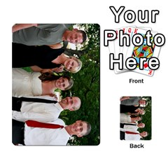 Ashley Dallas Reception Cards Done By Jeannie Deno   Multi Purpose Cards (rectangle)   5jrlubpf7fr3   Www Artscow Com Front 52