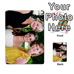 Ashley Dallas Reception Cards Done By Jeannie Deno   Multi Purpose Cards (rectangle)   5jrlubpf7fr3   Www Artscow Com Back 52