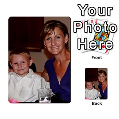 Ashley Dallas Reception Cards Done By Jeannie Deno   Multi Purpose Cards (rectangle)   5jrlubpf7fr3   Www Artscow Com Back 53