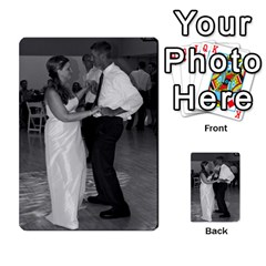 Ashley Dallas Reception Cards Done By Jeannie Deno   Multi Purpose Cards (rectangle)   5jrlubpf7fr3   Www Artscow Com Back 6