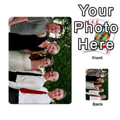 Ashley Dallas Reception Cards Done By Jeannie Deno   Multi Purpose Cards (rectangle)   5jrlubpf7fr3   Www Artscow Com Front 10