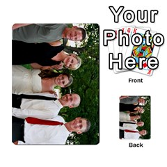 Ashley Dallas Reception Cards Done By Jeannie Deno   Multi Purpose Cards (rectangle)   5jrlubpf7fr3   Www Artscow Com Front 15