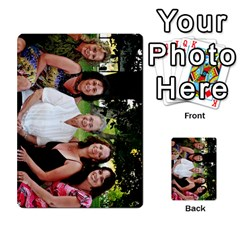 Ashley Dallas Reception Cards Done By Jeannie Deno   Multi Purpose Cards (rectangle)   5jrlubpf7fr3   Www Artscow Com Back 21