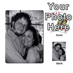 Ashley Dallas Reception Cards Done By Jeannie Deno   Multi Purpose Cards (rectangle)   5jrlubpf7fr3   Www Artscow Com Back 22