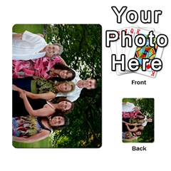 Ashley Dallas Reception Cards Done By Jeannie Deno   Multi Purpose Cards (rectangle)   5jrlubpf7fr3   Www Artscow Com Back 23