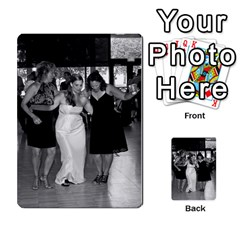 Ashley Dallas Reception Cards Done By Jeannie Deno   Multi Purpose Cards (rectangle)   5jrlubpf7fr3   Www Artscow Com Back 26