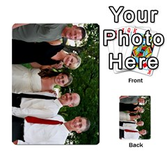 Ashley Dallas Reception Cards Done By Jeannie Deno   Multi Purpose Cards (rectangle)   5jrlubpf7fr3   Www Artscow Com Front 33