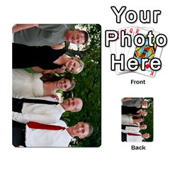 Ashley Dallas Reception Cards Done By Jeannie Deno   Multi Purpose Cards (rectangle)   5jrlubpf7fr3   Www Artscow Com Front 36