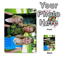 Ashley Dallas Reception Cards Done By Jeannie Deno   Multi Purpose Cards (rectangle)   5jrlubpf7fr3   Www Artscow Com Back 39