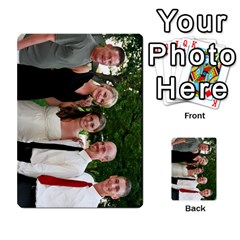 Ashley Dallas Reception Cards Done By Jeannie Deno   Multi Purpose Cards (rectangle)   5jrlubpf7fr3   Www Artscow Com Front 5