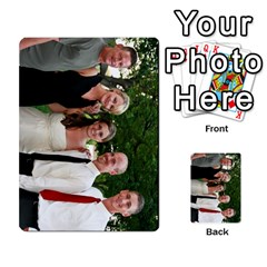 Ashley Dallas Reception Cards Done By Jeannie Deno   Multi Purpose Cards (rectangle)   5jrlubpf7fr3   Www Artscow Com Front 41