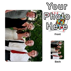 Ashley Dallas Reception Cards Done By Jeannie Deno   Multi Purpose Cards (rectangle)   5jrlubpf7fr3   Www Artscow Com Front 45