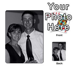 Ashley Dallas Reception Cards Done By Jeannie Deno   Multi Purpose Cards (rectangle)   5jrlubpf7fr3   Www Artscow Com Back 45