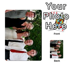 Ashley Dallas Reception Cards Done By Jeannie Deno   Multi Purpose Cards (rectangle)   5jrlubpf7fr3   Www Artscow Com Front 50