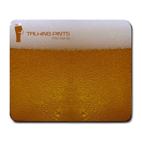 Talkingpints By Brandon Wright   Large Mousepad   E21jyqfuouyv   Www Artscow Com Front