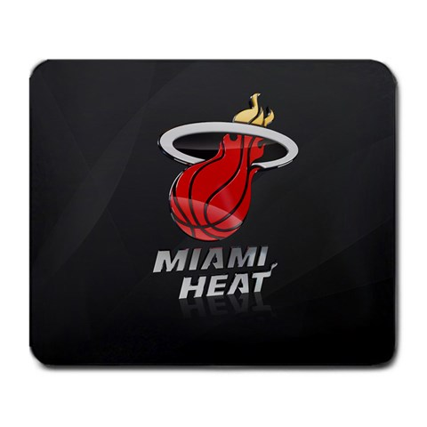 Miami Heat Mouse Pad By Hasnain   Large Mousepad   8fq5cqwjg2z1   Www Artscow Com Front