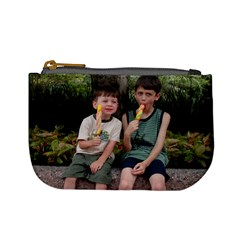Sean And Dillon In Disney  By Deanna Bromirski   Mini Coin Purse   H8ktc5kd66ni   Www Artscow Com Front