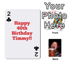 Timmy Cards By Kelly Corder   Playing Cards 54 Designs   U8mfcx8c1kd1   Www Artscow Com Front - Club2