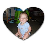 Cavin is my heart - Heart Mousepad