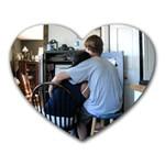 Con&I - Heart Mousepad