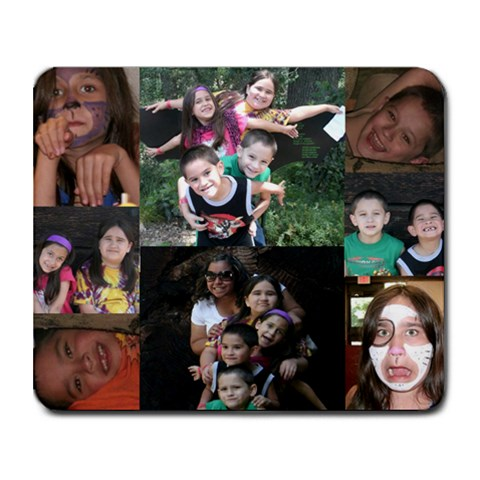 Kids Mousepad By Deirdre Jensen Soliz   Collage Mousepad   Dffm0p0wz5so   Www Artscow Com 9.25 x7.75 Mousepad - 1