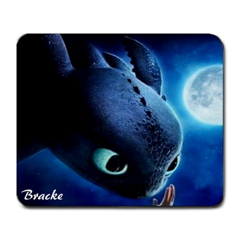 Toothless By Bracke   Large Mousepad   1c4yyb5kebdl   Www Artscow Com Front
