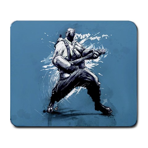 Pyroepicppaint By Wesley   Collage Mousepad   L8ccmhi8yl3v   Www Artscow Com 9.25 x7.75 Mousepad - 1