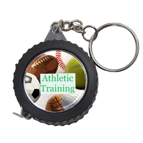 Sports Ball Tape Measure Key Chain 3 By Melissa   Measuring Tape   I6ea6rfpuhzo   Www Artscow Com Front