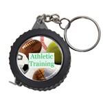Sports ball tape measure key chain 3 - Measuring Tape