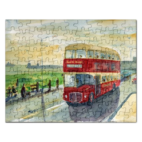 Northern Routemaster Bus Jigsaw By David Marsh   Jigsaw Puzzle (rectangular)   Hongeqdvp1u6   Www Artscow Com Front