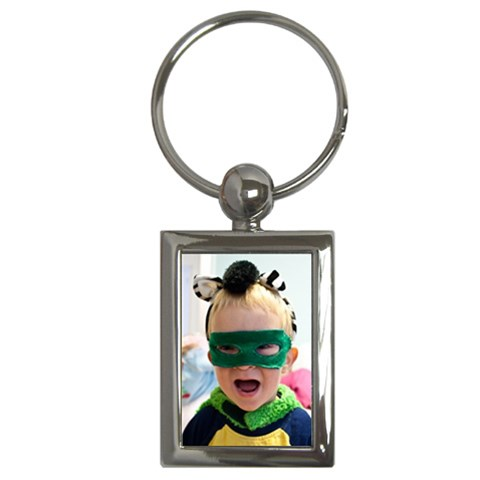 Keychain By Elizabeth Mccoy   Key Chain (rectangle)   Yc8ds4v2pkps   Www Artscow Com Front