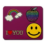 Smiley Face - Collage Mousepad