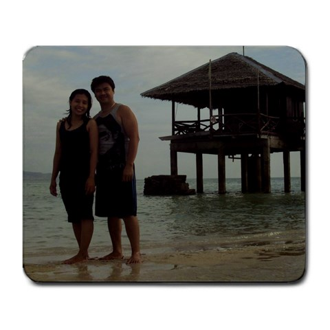 I2ky On Sand By Ian Kirit   Large Mousepad   111111   Www Artscow Com Front