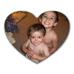 my boys are my heart - Heart Mousepad