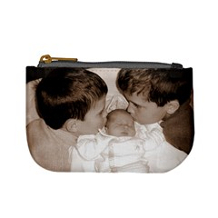 Brotherly Love Coin Purse  By Laura Holliday   Mini Coin Purse   X2wa1mt1euv5   Www Artscow Com Front