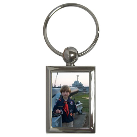Cub Scout End Of Year Trip By Jessica Lee   Key Chain (rectangle)   Oenf4097fcf5   Www Artscow Com Front