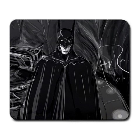 Batcave By Anthony Rocha Perez   Large Mousepad   Z5i9mhxdy9mx   Www Artscow Com Front