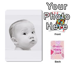 Ace Memory Cards By Christina   Playing Cards 54 Designs   Sn9xkcxn394t   Www Artscow Com Front - SpadeA