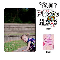 Memory Cards By Christina   Playing Cards 54 Designs   Sn9xkcxn394t   Www Artscow Com Front - Diamond3