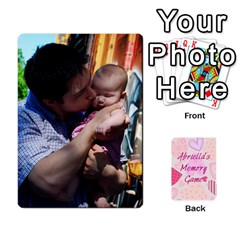 Memory Cards By Christina   Playing Cards 54 Designs   Sn9xkcxn394t   Www Artscow Com Front - Spade5