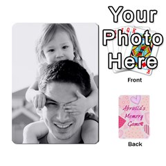 Ace Memory Cards By Christina   Playing Cards 54 Designs   Sn9xkcxn394t   Www Artscow Com Front - DiamondA