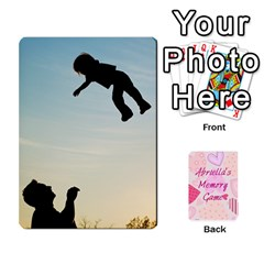 Memory Cards By Christina   Playing Cards 54 Designs   Sn9xkcxn394t   Www Artscow Com Front - Club3
