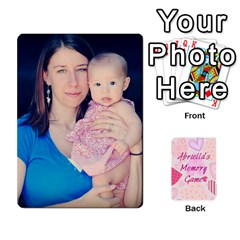 Memory Cards By Christina   Playing Cards 54 Designs   Sn9xkcxn394t   Www Artscow Com Front - Club4